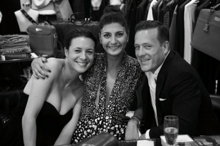 Garance Dore-Giovanna Battaglia and The Sartorialist- at Sartorialist's Book Signing- Courtesy of The Sartorialist