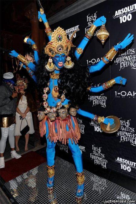 Heidi Klum's Costume- Google Images