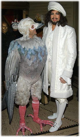 Marc Jacobs and Robert Duffy in Costume- Courtesy Purse Blog/ Google Images