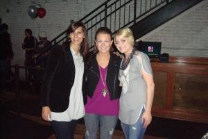Me, Britt and Sarah