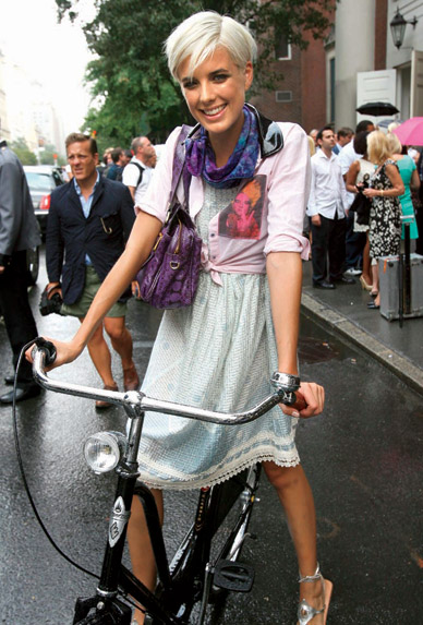 Let S Go Ride A Bike Fashion Folio