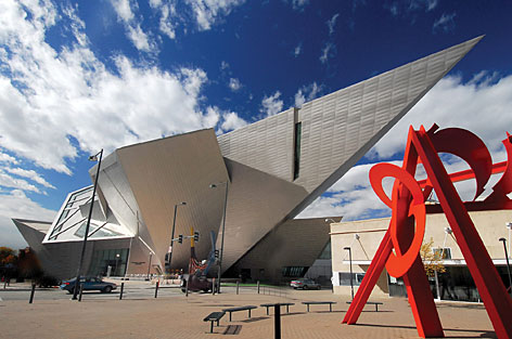 Denver  Museum on Retrospective Opening  Denver Art Museum   S Drawing A Fashion Crowd