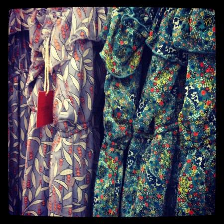 Floral dresses at Target