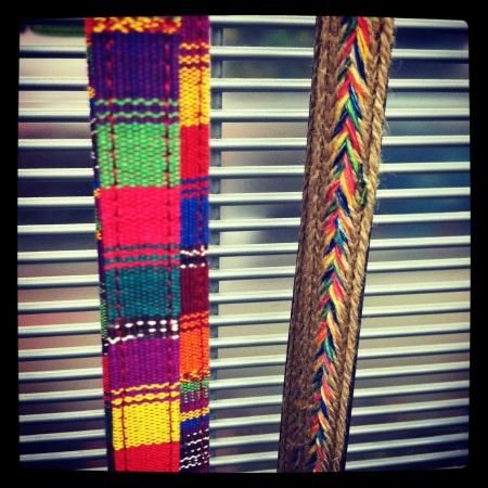 Navajo belts at Target