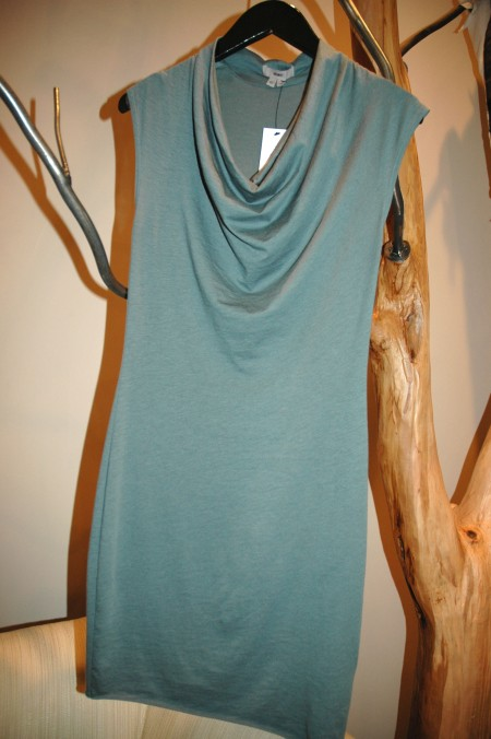 a line green helmut dress 6