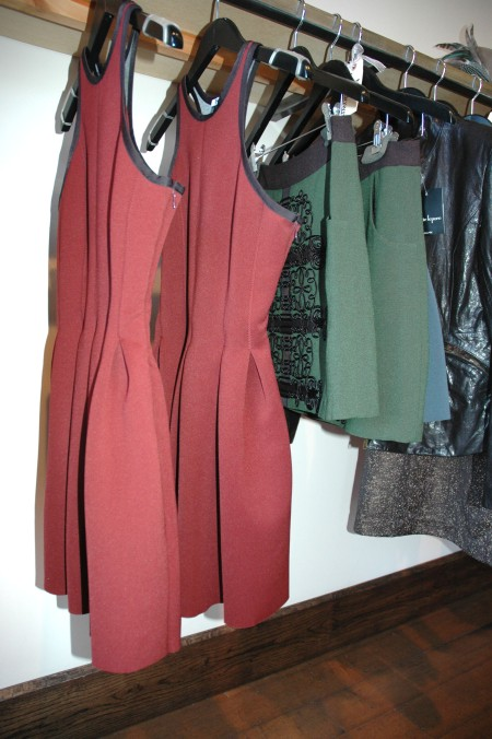 a line helmut maroon dres 10