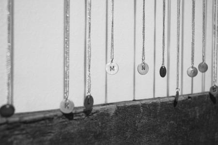 letter necklaces